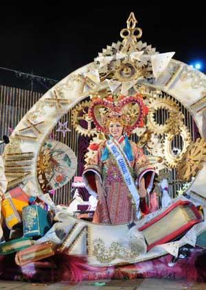 Silvia Luis Herrera, Reina Infantil del Carnaval de Puerto de la Cruz