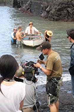 Rodaje de la pelicula El Clan 24 de septiembre de 2011