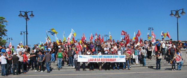 Concentracion en_Plaza_de_Europa_el_dia_de_la_huelga_general_del_29_de_marzo_de_2012