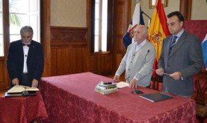 Toma posesion en La Orotava del nuevo interventor