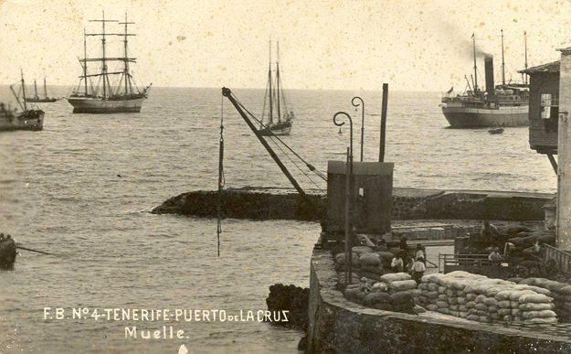 Reflexiones sobre la historia del desarrollo del Comercio marítimo y de la Infraestructura Portuaria en Puerto de la Cruz