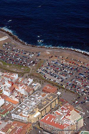 Foto aerea de la explanada