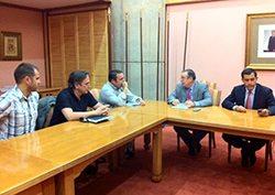 Reunion con Gobierno de Canarias