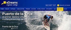 eDreams-Cabecera Puerto de la Cruz