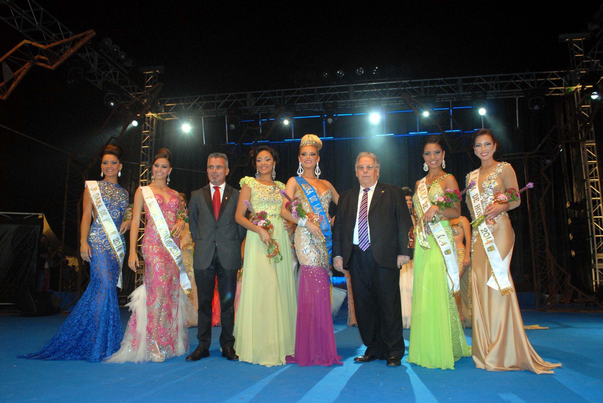 Gala de Eleccion de la Reina de las Fiestas de Julio 2014 de Puerto de la Cruz