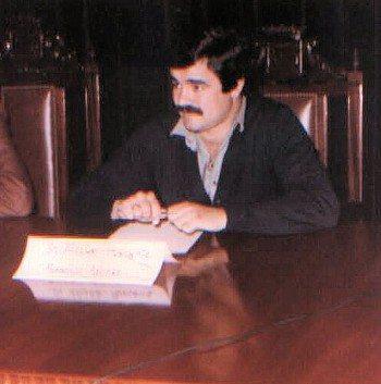 Paco Afonso en 1982