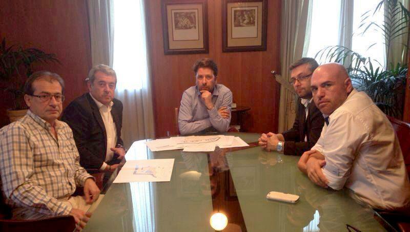 Reunión en el Cabildo sobre el Proyecto del muelle Puerto de la Cruz