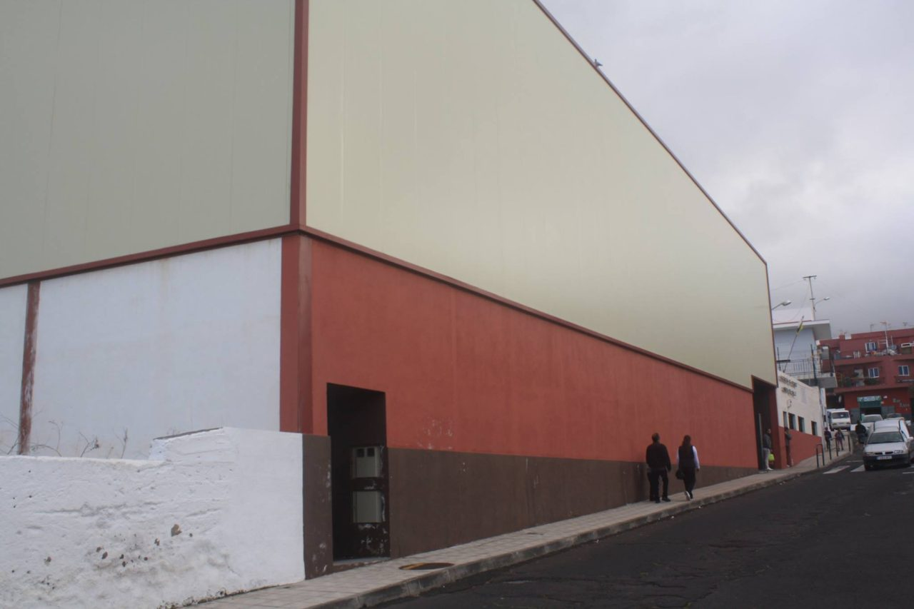 Pabellon de La Vera exterior - Puerto de la Cruz