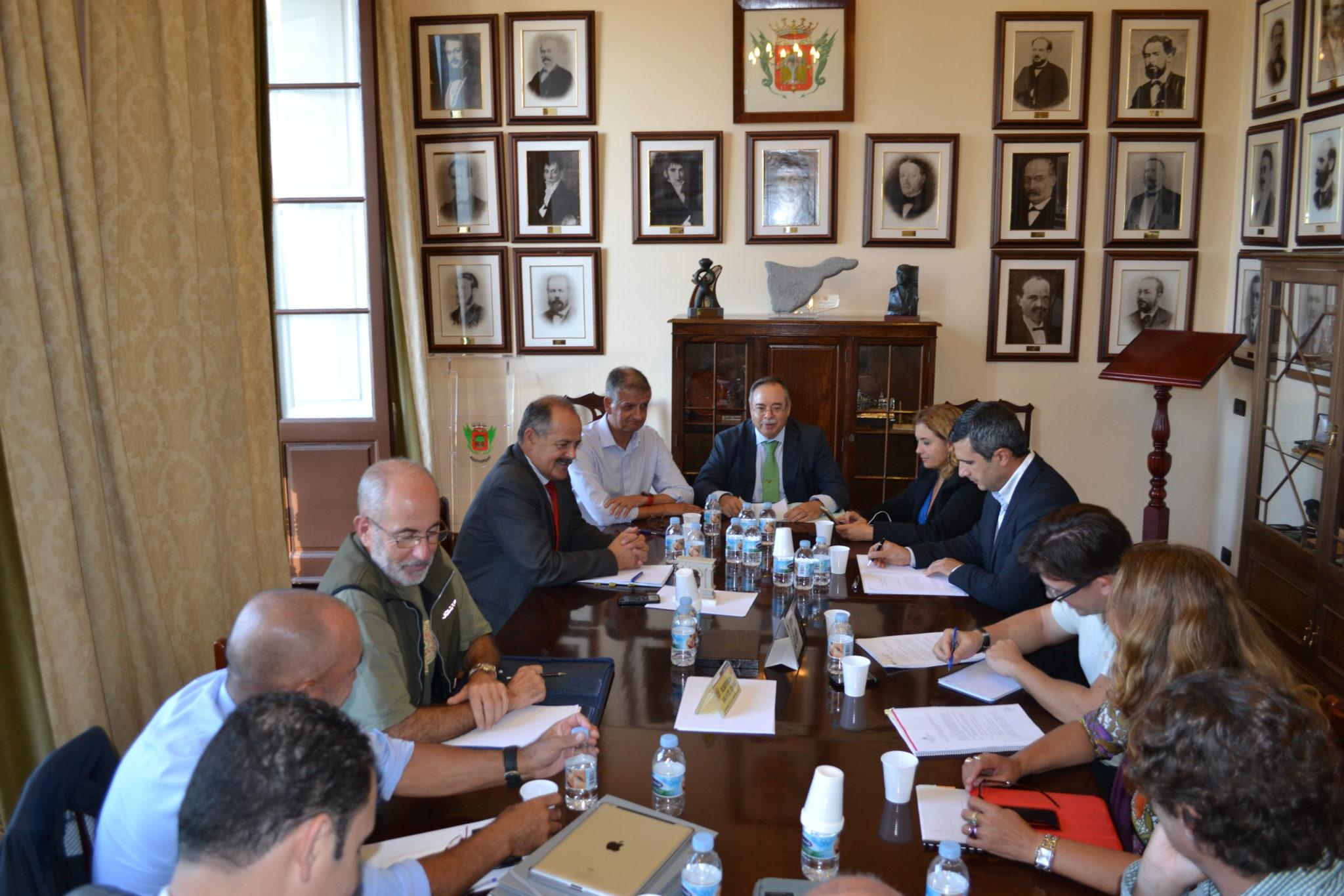 Reunion Consorcio de El Rincon de La Orotava Octubre 2014