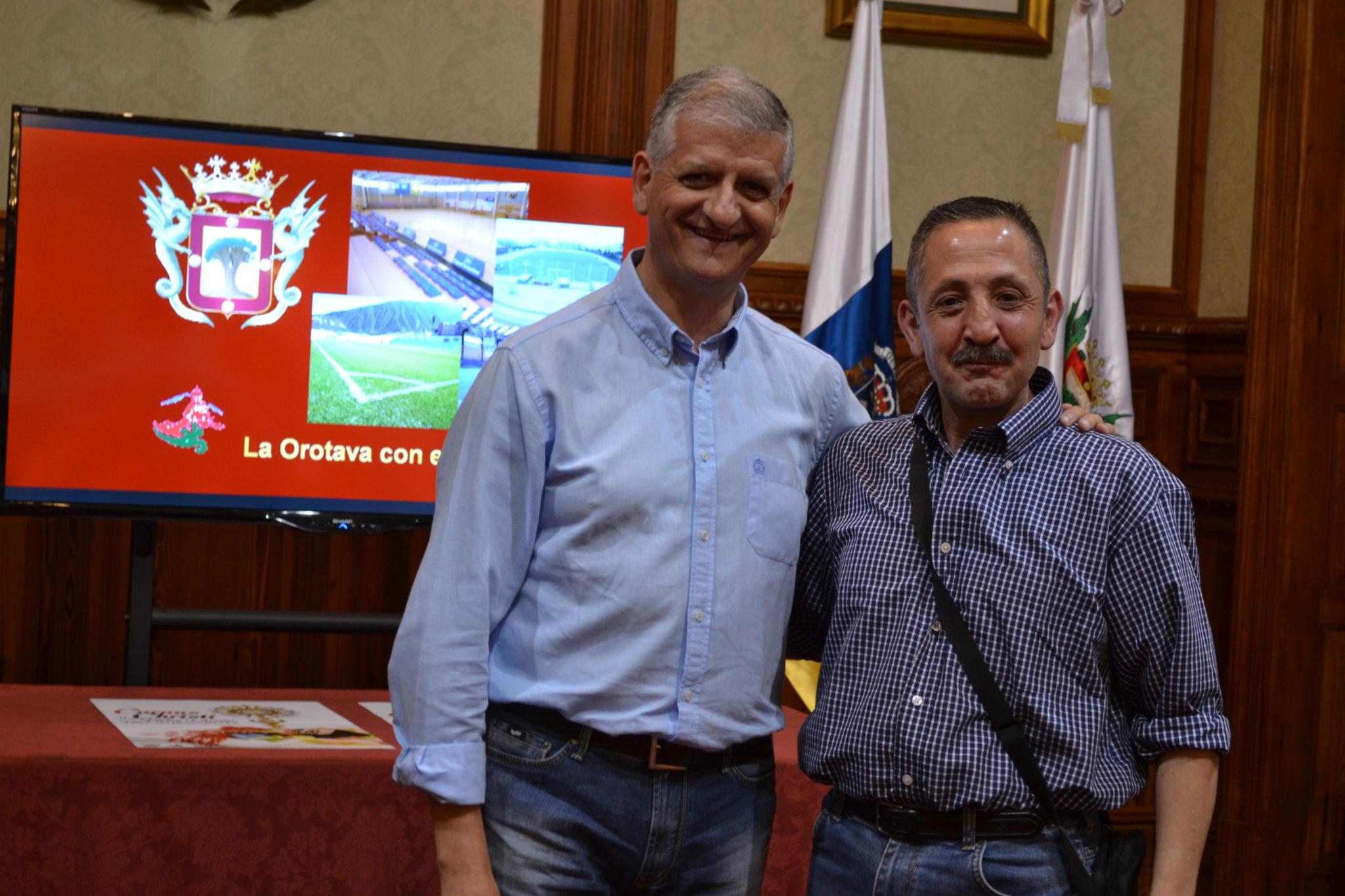 Entrega subvenciones a clubs deportivos 2014 en La Orotava