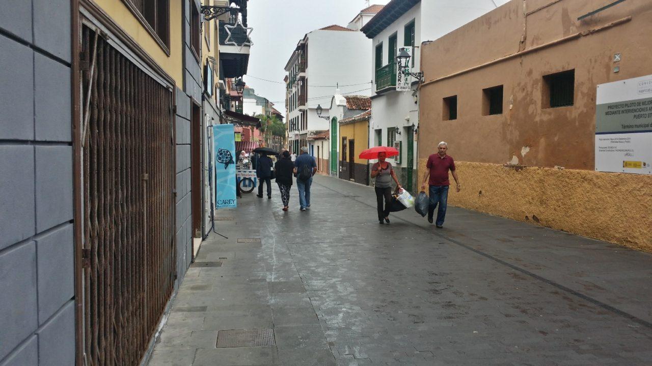 MEQUINEZ peatonal diciembre 2014 - Puerto de la Cruz
