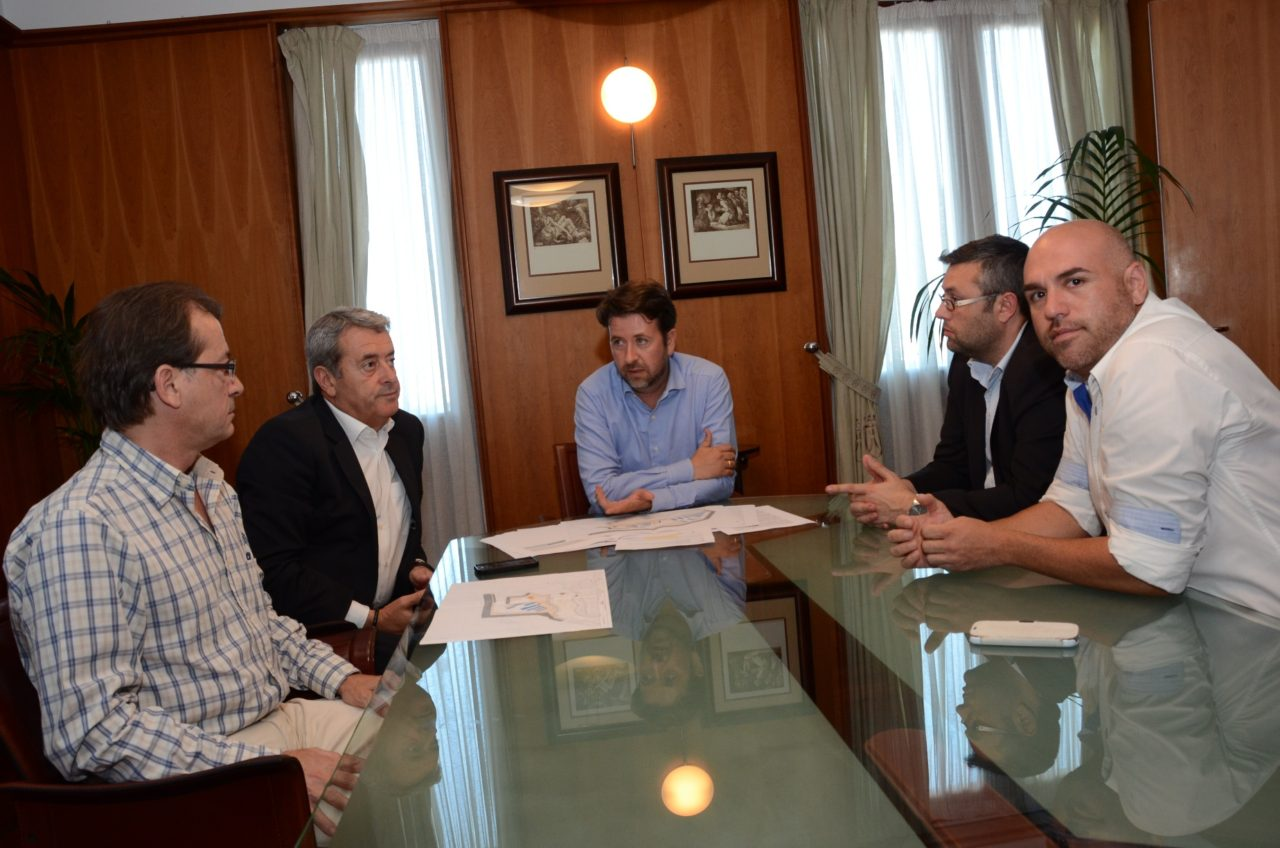 Reunión 17-06-2014 Carlos Alonso y representantes PSOE de Puerto de la Cruz