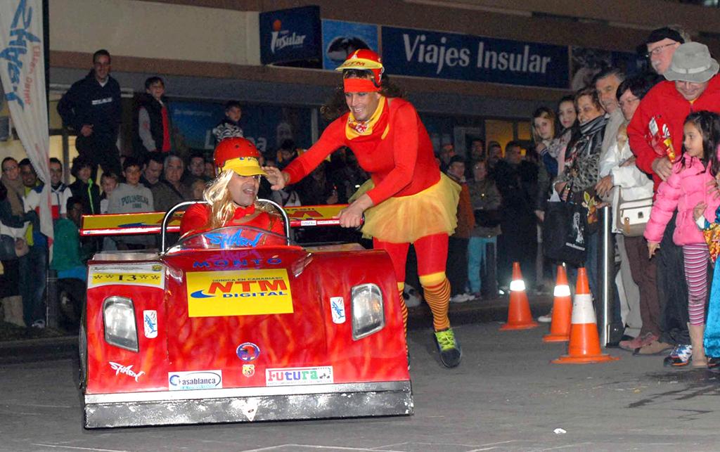 Carros Locos 1 - Carnaval 2015 de Puerto de la Cruz