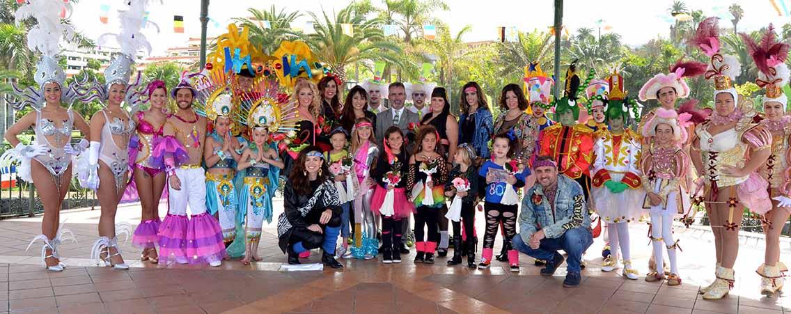 Presentacion de Candidatas al Carnaval 2015 1
