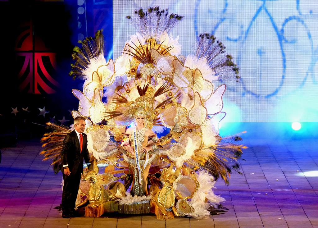 Primera Dama del Carnaval 2015 - Sara Hernández Carballo