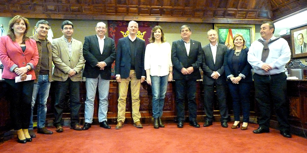 Reunion de Alcaldes del Norte - 8-4-2015