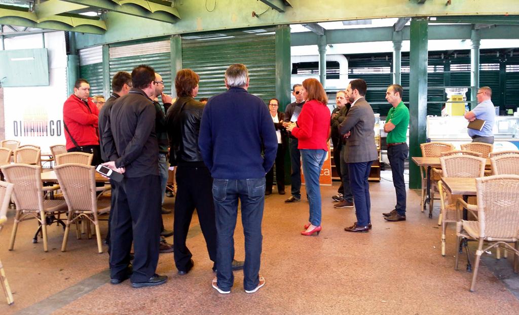 Reunion de la Alcaldesa con los trabajadores del Dinamico