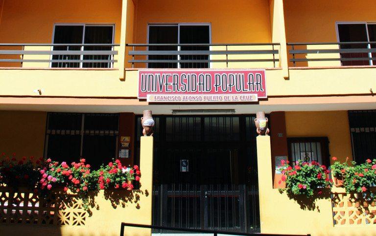 Se presentó el nuevo curso 2018-2019 de la Universidad Popular