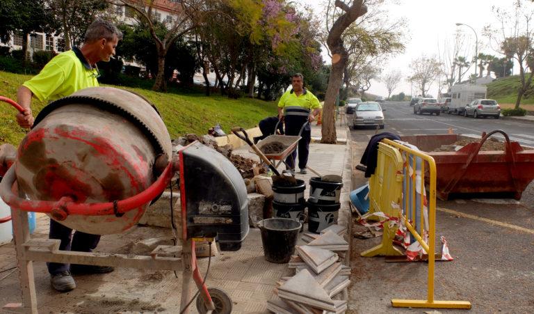 El Ayuntamiento ejecuta obras de mejora en el barrio de La Vera