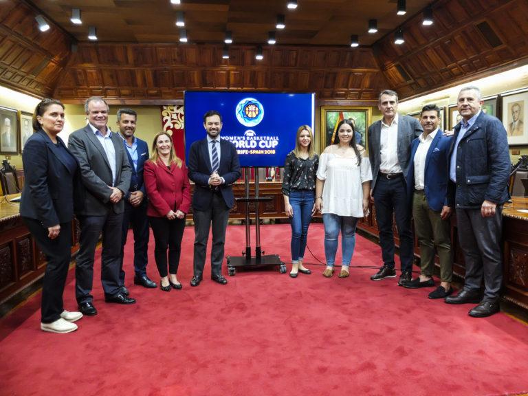 14 selecciones participantes en el mundial de baloncesto femenino se hospedarán y entrenarán en Puerto de la Cruz