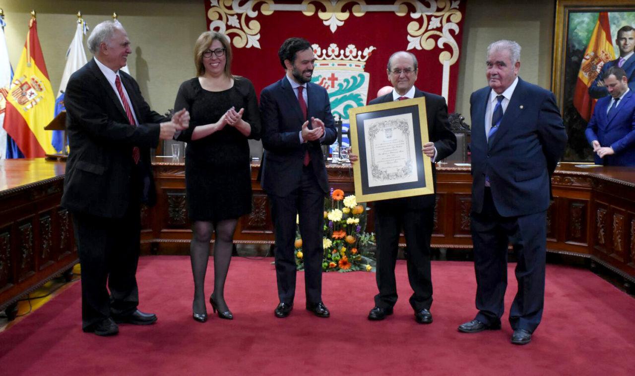 Reconocimiento en Salón de Plenos del reconocimiento a Agustín de Betancourt