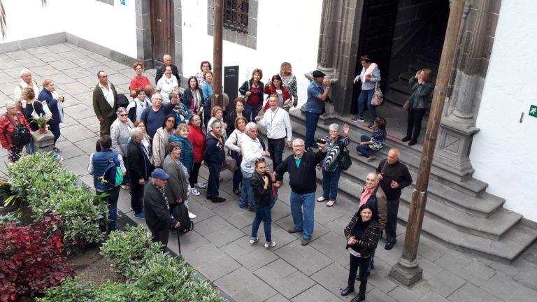 194 mayores de Puerto de la Cruz visitan Gran Canaria