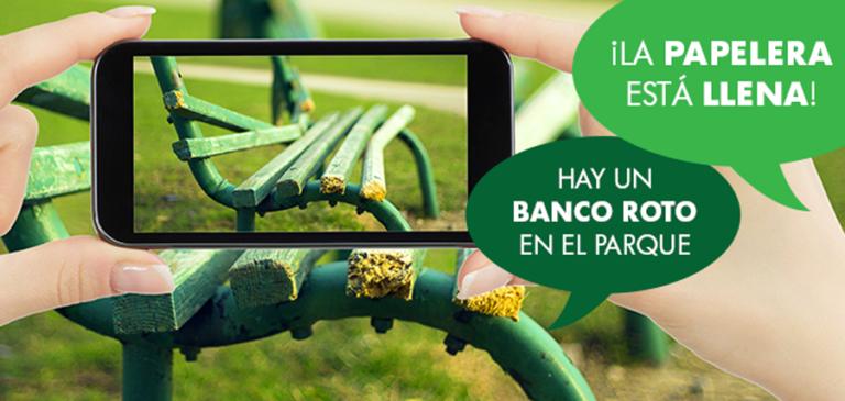 Los vecinos con la app «Línea verde» podrán comunicar incidencias