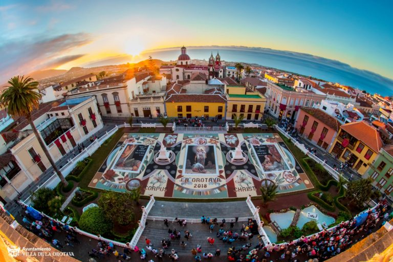 A partir de este miércoles comienzan las Fiestas Mayores de La Orotava