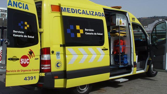 Ambulancia SUC - Suceso