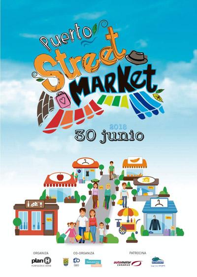 Cartel Puerto Street Market 2018