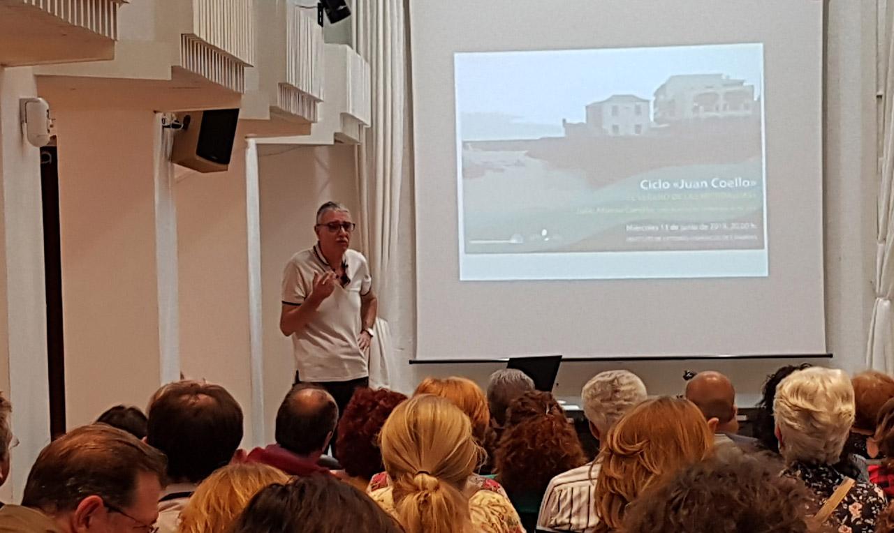 Charla Julio Afonso en IEHCAN 13-6-2018 - Microalgas