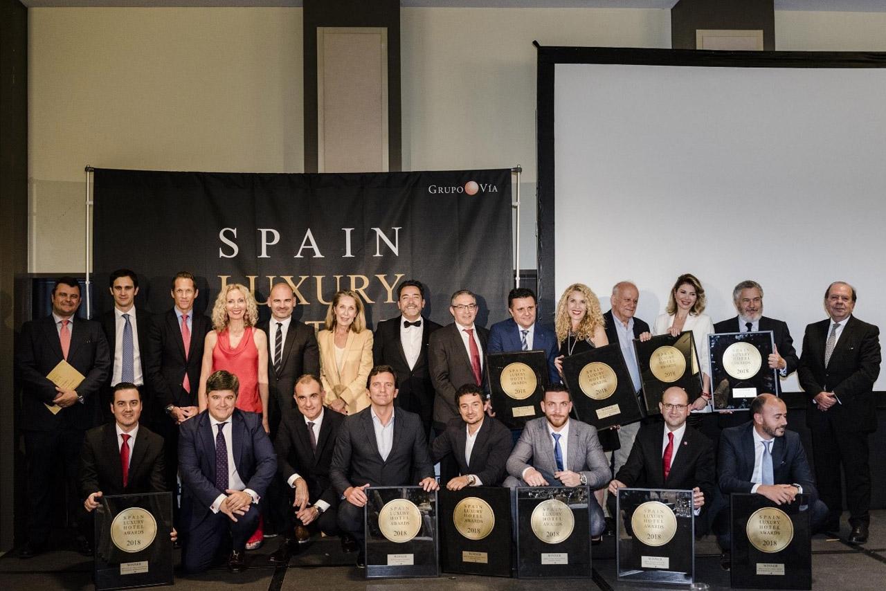 Entrega Premio al Hotel Botánico Junio 2018