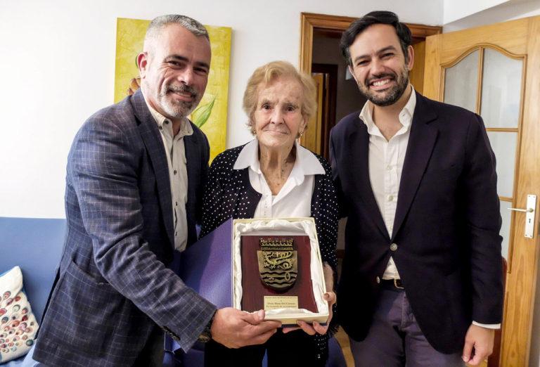 María del Carmen Hernández cumple 100 años de edad
