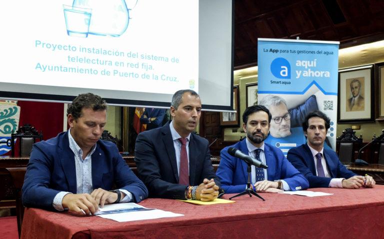 Aqualia presenta en el Ayuntamiento su sistema de telelectura del agua