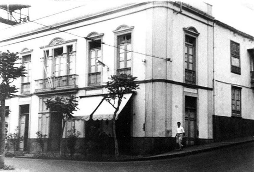 Antiguo Ayuntamiento cuando Puerto de la Cruz fue reconocida como ciudad