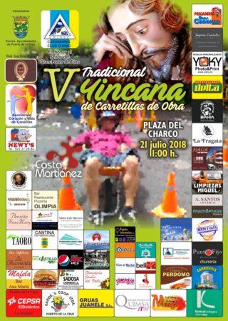 Cartel Yincana solidaria