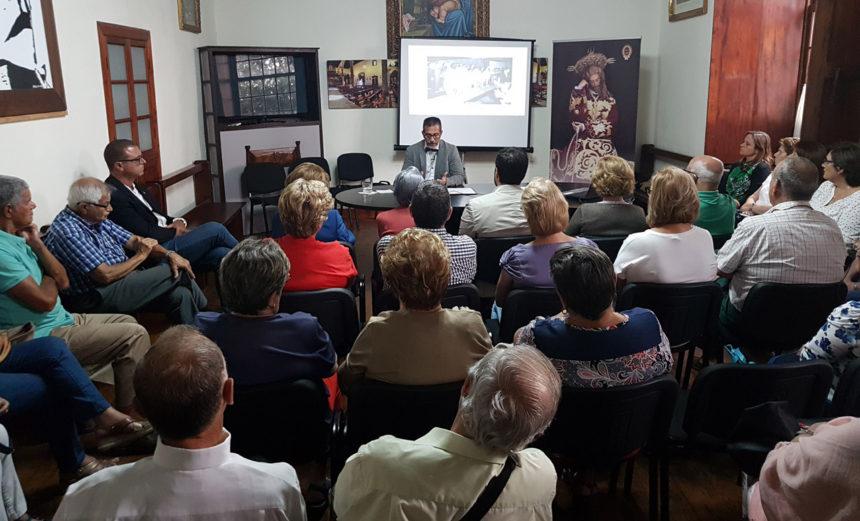 Charla Emilio Zamora sobre Evolucion de las Fiestas de Julio