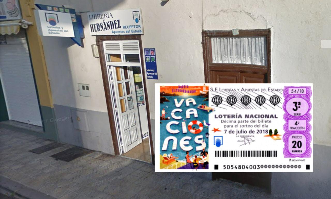 Loteria Calle Bencomo 30 Punta Brava