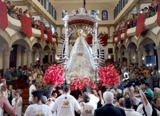 Octava de la Virgen del Carmen Procesión de los Marinos 2018