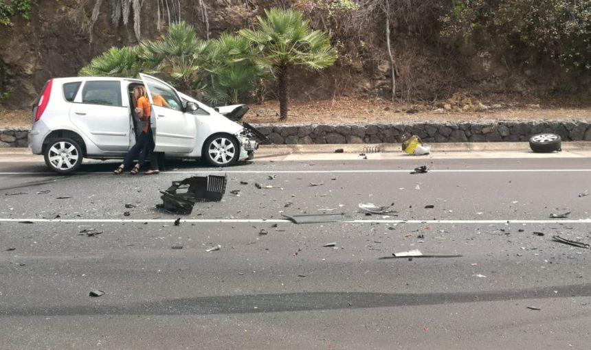 Suceso - vehículo colisionado