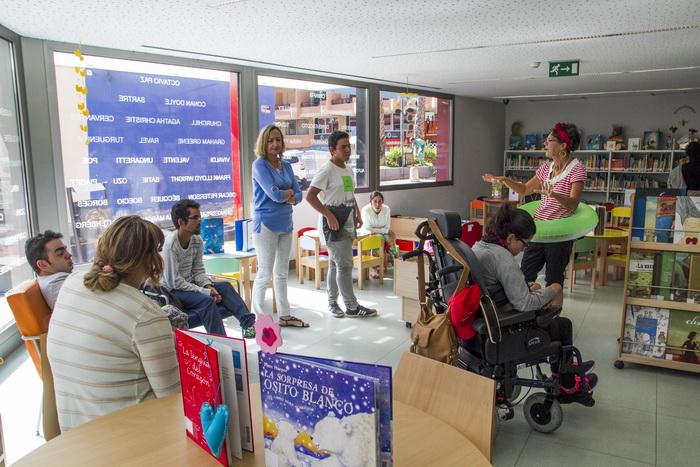 Actividad en la Biblioteca Tomás Iriarte