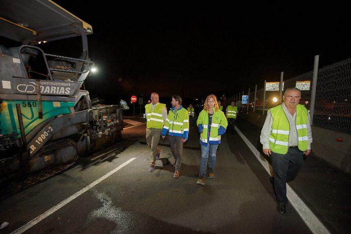 Obras de asfaltado