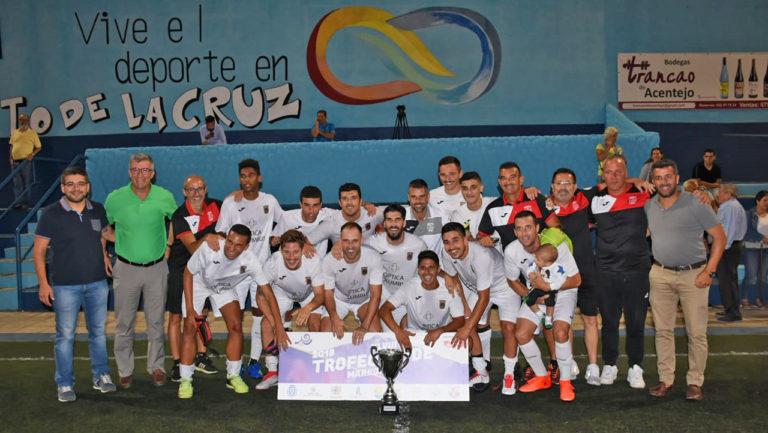 El CD Puerto Cruz gana las tres categorías del Trofeo Teide