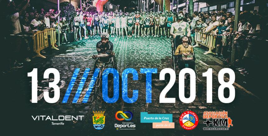 Cartel Media Maratón Nocturna 2018