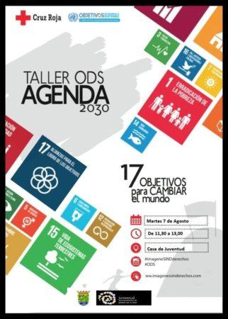 Cruz Roja - Cartel del Taller ODS