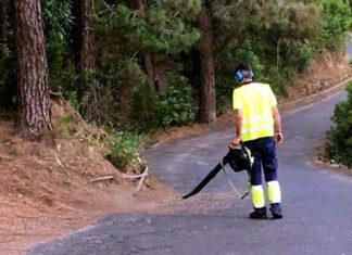 Limpieza de zonas rurales