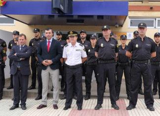 Policia Nacional - Policias en practicas en Puerto de la Cruz