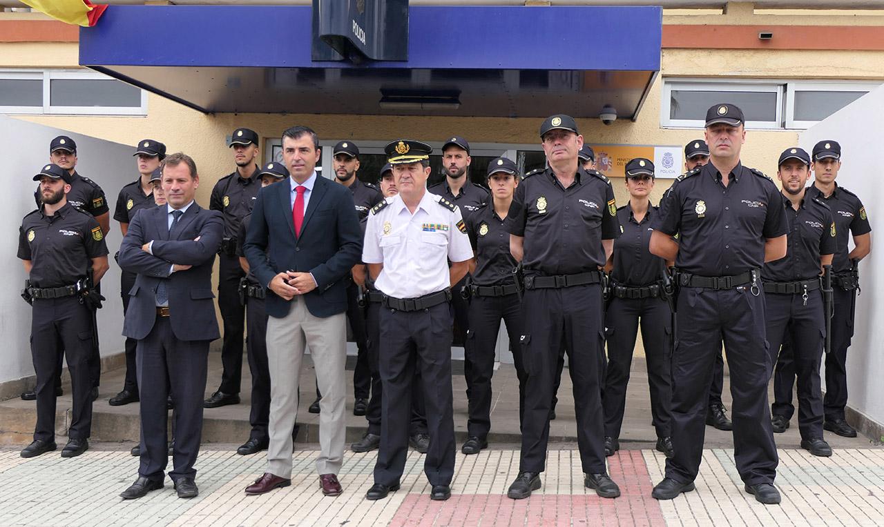Resultado de imagen de Día de la Policía Nacional en los realejos