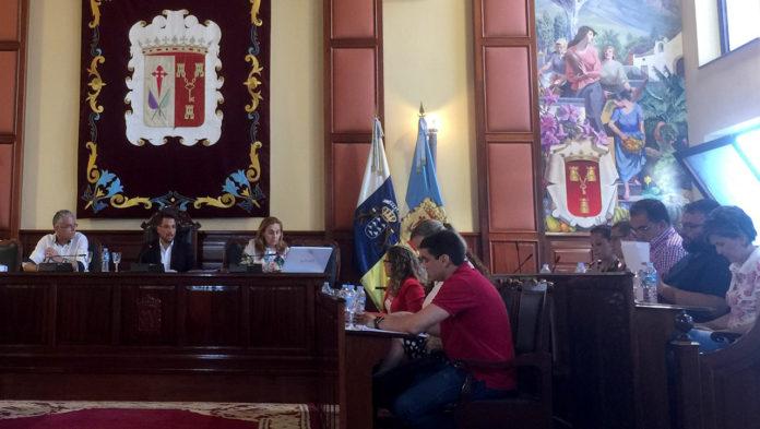 Pleno municipal de Los Realejos - PSOE realejero