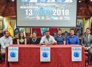 Presentacion de la Media Maratón Nocturna 22-8-2018